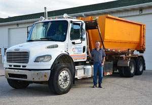 Rent a roll-off from Grand Rapids Dumpster Rental