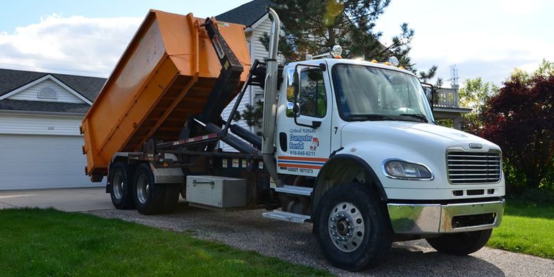 About Grand Rapids Dumpster Rental