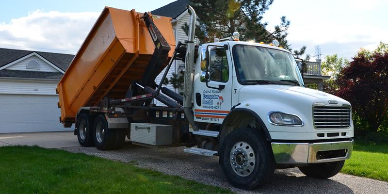 About Grand Rapids Dumpster Rental